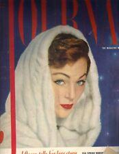 LADIES' HOME JOURNAL Magazine 2/53 QUEEN'S LOVE STORY