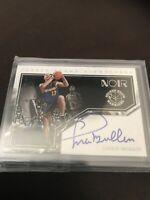 Panini Noir Chris Mullen Auto On Card SSP /49 Nice Warriors Legend