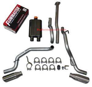05-12 Toyota Tacoma 4.0 Catback Dual Exhaust Side Exit - Flowmaster Super 44
