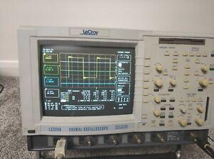 Leroy LC334a 4 Channel 500mhz Digital Storage Oscilloscope