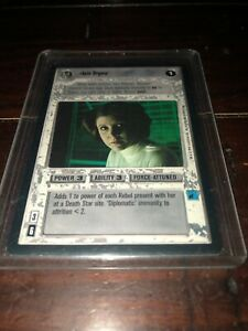 Star Wars Customizeable Card Game CCG (Decipher, 1995) LEIA ORGANA
