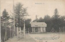 Fontenay-De-Compte France Tennis Courts Postcard c1906