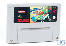 Earthworm Jim-Super Nintendo Snes PAL Retro Cartucho De Juego