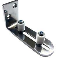 Floor Guide for Bottom Of Sliding Barn Doors Adjustable Wall Mount Stay Rol Z4T6