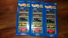 HOT WHEELS Ford Lot of 3 Gift Packs #12404 1993 New
