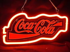 """New Coca Cola 3D Carved Acrylic Neon Light Sign 14"""" Beer Cave Gift Lamp Bar"""