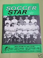 SOCCER STAR - UK FOOTBALL MAGAZINE - 4 MAY 1963 - COVER PIC - SUNDERLAND