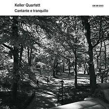 KELLER QUARTETT-CANTANTE E TRANQUILLO CD NEU BACH/KURTAG/BEETHOVEN,VAN/LIGETI/+