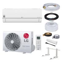 LG Standard Klimaanlage S12EQ R32 3,5kW + 3 Meter Montage Set