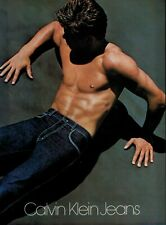 1981 CALVIN KLEIN JEANS & Menswear :  Magazine  Print Ad ( 10-pg )
