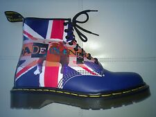 DOC DR MARTENS BULLDOG UNION JACK FLAG BOOT RARE NEW VINTAGE MADE IN ENGLAND 6UK