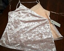 Ladies polyester Next sequinned party wrap top cream 22 new with tags