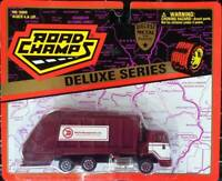 Road Champs Deluxe Series Waste Management Garbage Truck DIECAST METAL & PLASTIC