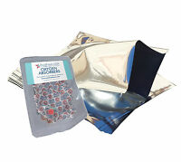 (10) 1 Gallon Mylar Foil Bags + (10) 500cc Oxygen Absorbers + FREE LTFS Guide