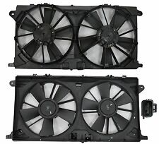 New Dual Radiator & Condenser Fan FOR 2015 Ford F150