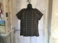 M&S Collection Ladies Tunic Size 14, Beautiful Design, Brand New Without Tags.