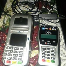 First Data Fd130 Dial / Ethernet Credit Card Machine Debit Food Stamp + Pin Pad