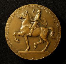 Belgien, Große Bronzemedaille 1910, von C. Devreese, Weltausstellung Brüssel