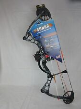 "Diamond Edge Sonar Bowfishing bow Right Hand 18-30"" 5-55lbs Kryptek Neptune Camo"