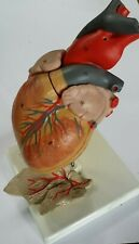 More details for vintage anatomical scientific model of a heart complete with heart-strings!