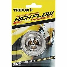 TRIDON HIGH FLOW THERMOSTAT 5/1978-12/1980 FOR MAZDA E1300 CARBY 4CYL 1.3L TC
