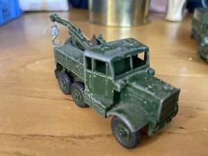 Vintage DINKY TOYS - No.661 Scammell ARMY RECOVERY TRACTOR