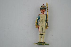 Lead Toy Soldier Figure Vintage Handpainted Figurine Statue 737-739