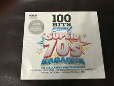 70's Super Karaoke Box Set 5 CD Collection 100 Favorite Songs CD+G Audio English