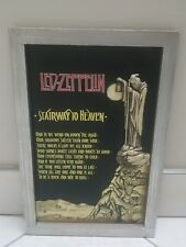 2005 Led Zeppelin Poster Board High Relief by Evandale to Bravado Merchandising