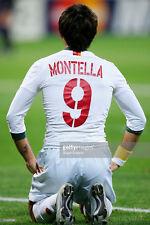 MAGLIA ROMA MONTELLA CHAMPIONS 2004 2005 DIADORA XXL PLAYER ISSUED BARILLA WORN