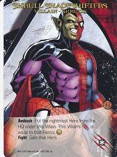 SKRULL SHAPESHIFTERS Upper Deck Marvel Legendary SKRULLS