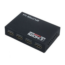 HQ 4 Port HDMI Splitter Adapter Switch Audio Video HUB 1080P HD Amplifier TV Box