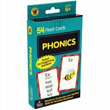 Phonics Flash Cards by Brighter Child 9780769647494 | Brand New