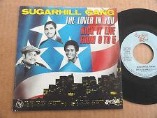 "DISQUE 45T DE SUGARHILL GANG  "" THE LOVER IN YOU """