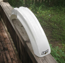 Kawasaki KX KDX 125 200 250 500 KDX220 KX125 KX250 KX500 White FRONT Fender NEW!