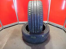 2x Sommerreifen Dunlop 245/40 ZR18 93Y MFS SportMaxxGT DOT 15 ca. 7 mm (1123)