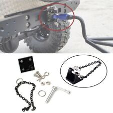 1:10 RC Rock Crawler Tow Metal Shackle Trailer Hook for Axial SCX10 90046 RC4WD