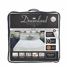 Dreamland Boutique Dual Control 6 Settings Fitted Electric Blanket - Kingsize