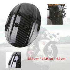 Motorcycle Rear PVC Carbon Fibre Fender Protector FIT For Honda Kawasaki Yamaha