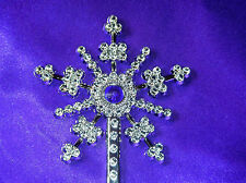 Snowflake Fairy Wand with Purple Gemstone - Party bag gift girl