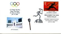 OLYMPIC CANCEL - ATHENS TORCH RELAY STATION  2004  OLY196
