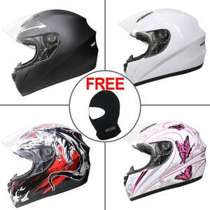 LEOPARD Motorcycle Helmet Full Face Scooter Crash Motorbike Helmets