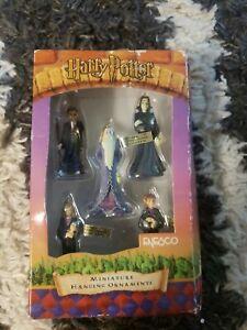 Enesco Harry Potter Miniature Ornaments Set Mini Christmas Hanging Ornaments