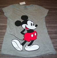 WOMEN'S TEEN Walt Disney MICKEY MOUSE T-shirt SMALL NEW w/ TAG