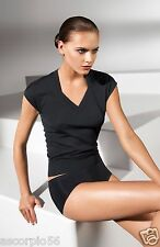 Wolford Fine Merino Wool Top Sleeveless Size:Small Color: Black 59741 -30 $395
