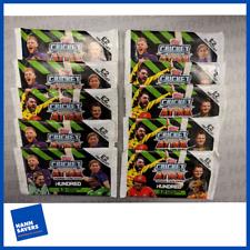 More details for topps cricket attax  'the hundred' trading card packs tournament ed x10 packs uk