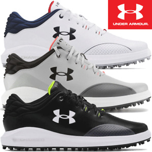 UNDER ARMOUR MENS UA DRAW SPORT WIDE FITTING SPIKELESS GOLF SHOES / 2021 MODEL
