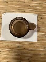 Vision Corning Ware V-150-B Amber Glass 15oz Grab It Bowl w/Lid