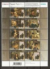 NVPH Netherlands 2285 2294 MNH peintre pintor DUTCH PAINTER FABRITIUS 2004