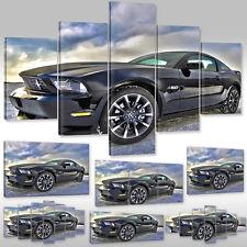 Leinwandbild canvas print Wandbild Auto Wagen Sportwagen Ford Mustang Cobra 5.0